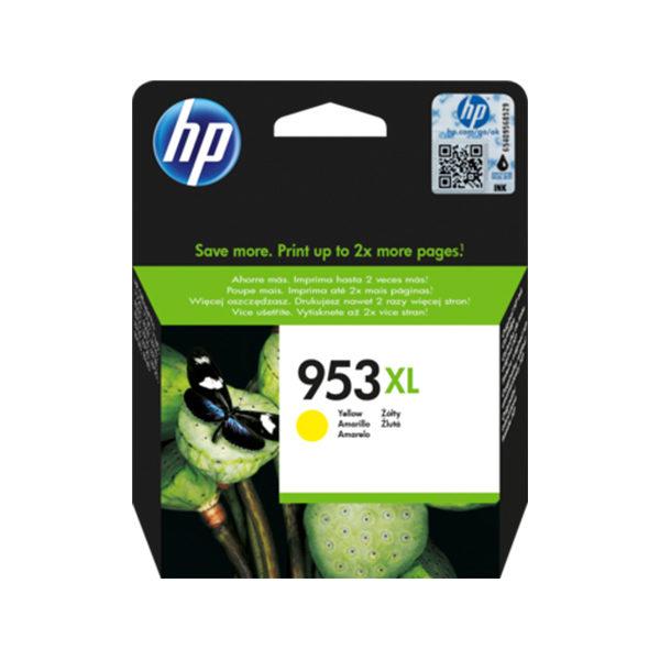 HP 953XL High Yield Yellow Ink CartridgeHP 953XL High Yield Yellow Ink Cartridge