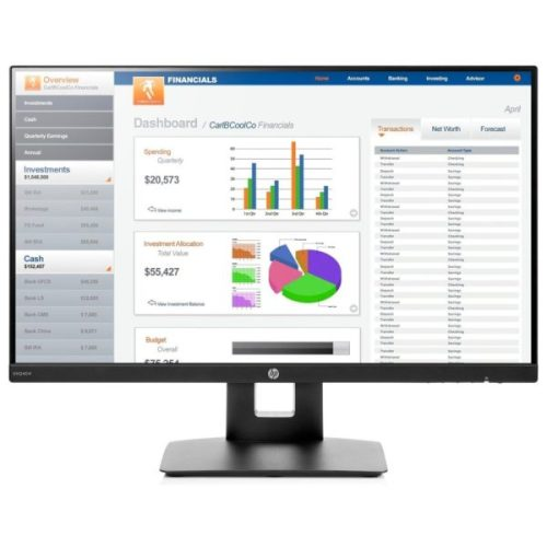 HP VH240a 23.8 inch LED Backlit Monitor