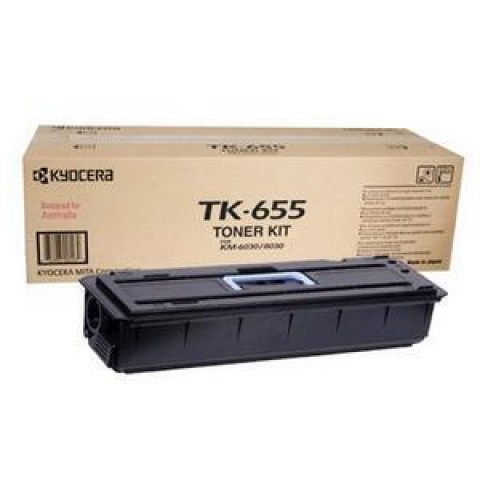 Kyocera TK-655 Black toner cartridge