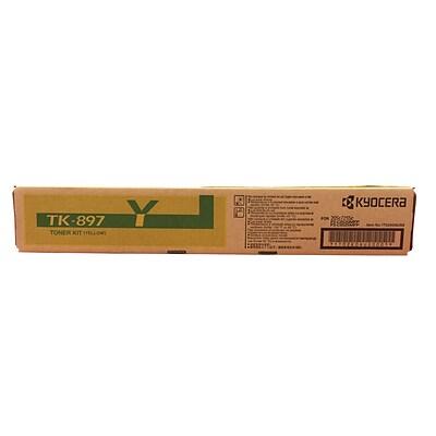 Kyocera TK-897Y yellow toner cartridge