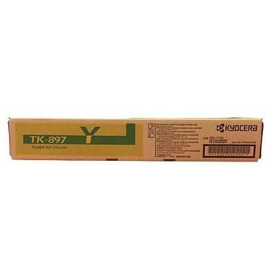 Kyocera TK-897Y yellow toner cartridge