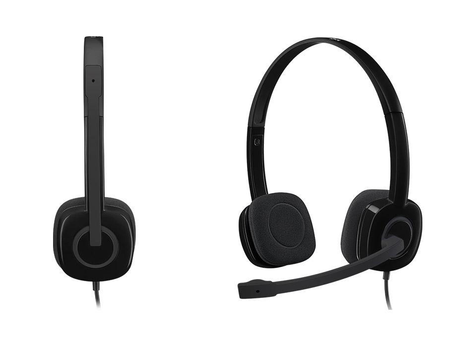Logitech H151 Stereo Headsets