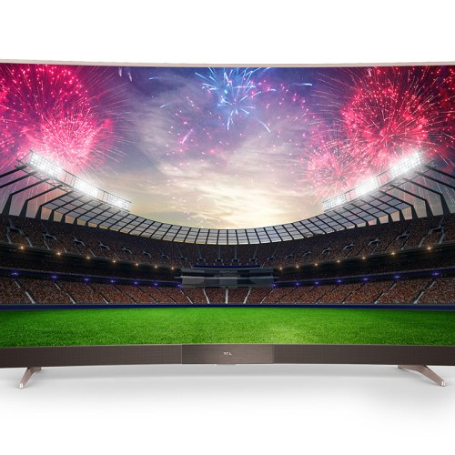TCL 55 inch Ultra HD 4K Curved Smart TV