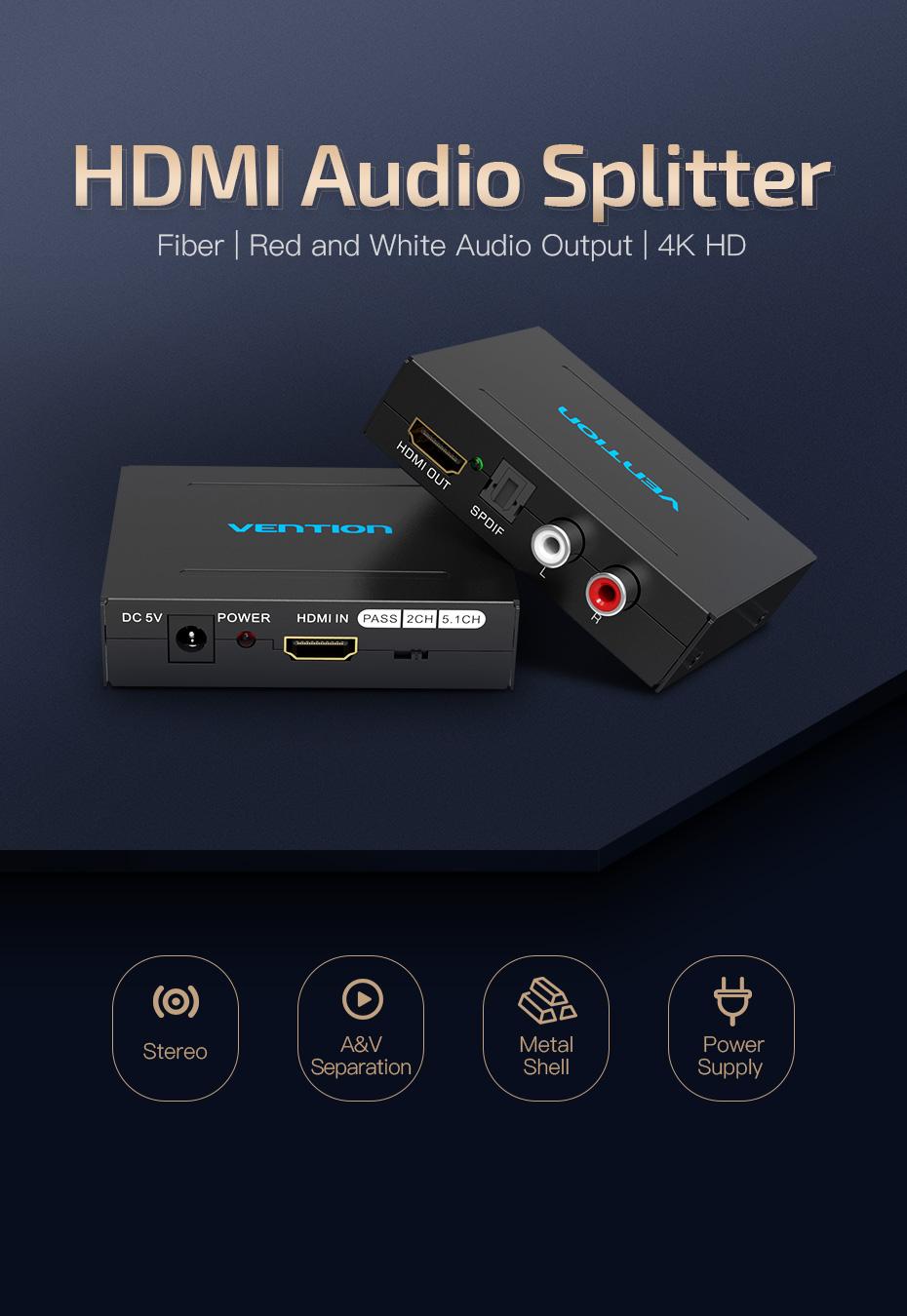 Vention HDMI audio Segragator