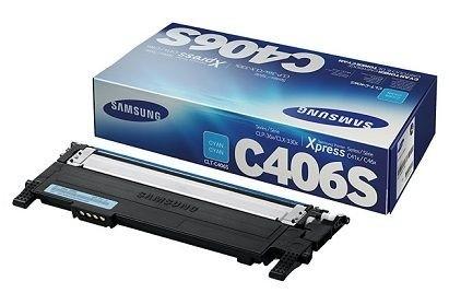 Samsung CLT-C406S Cyan Toner