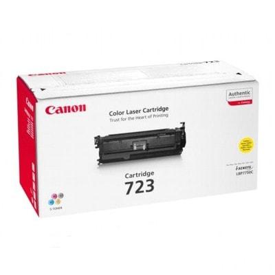 Canon 723 Yellow toner cartridge