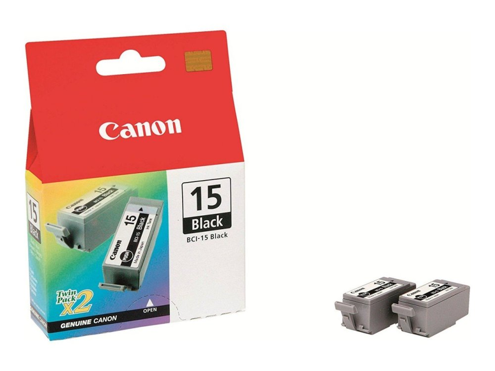 Canon BCI-15 Black Ink Cartridge