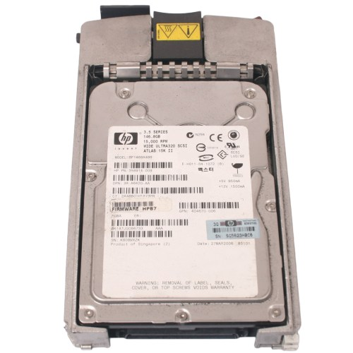 HP 146GB 3.5 inch Ultra 320 15k Hard Drive