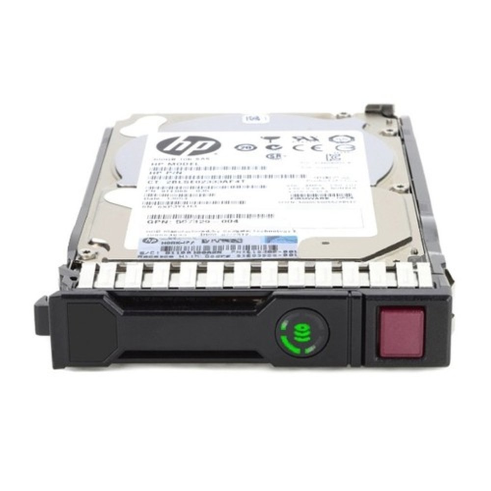 HP 600GB 12G SAS 10K 2.5'' SFF SC Server Hard Drive