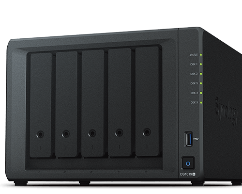 Synology DS1019+ DiskStation 5 Bay Barebone