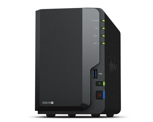 Synology DS218+ DiskStation 2 Bay Barebone