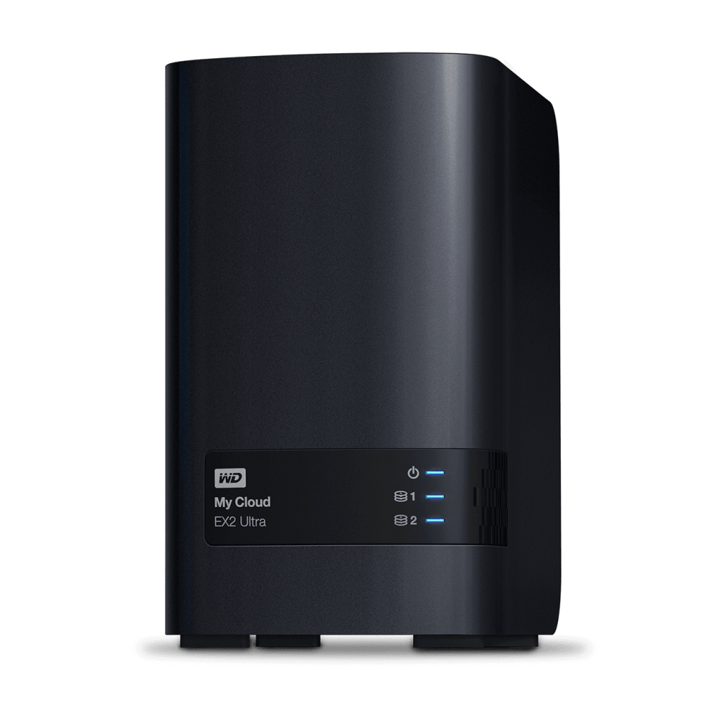 WD 4TB My Cloud EX2 Ultra NAS Storage