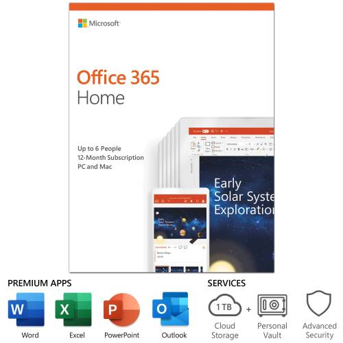 Microsoft Office 365 Home English License