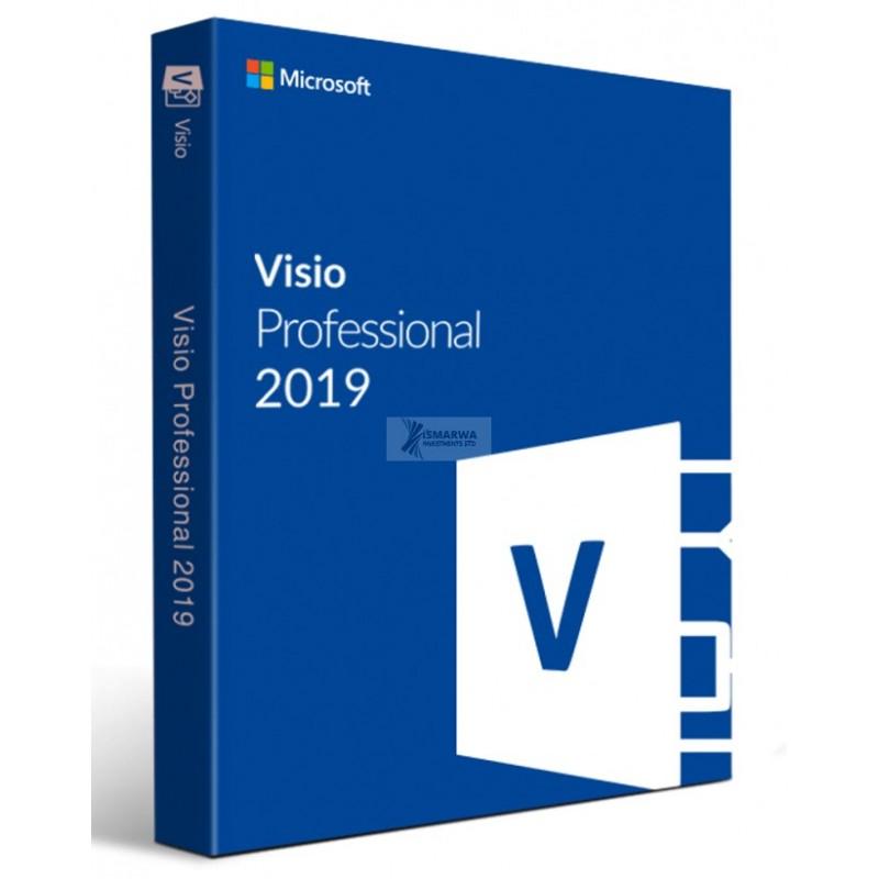 Microsoft Visio Pro 2019 Win All Lng PKL Online DwnLd C2R NR