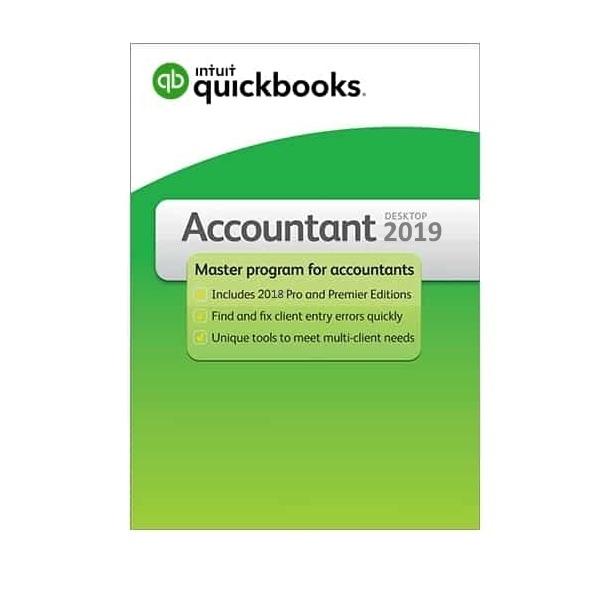 QuickBooks Accountant 2019-1 User Full Pack