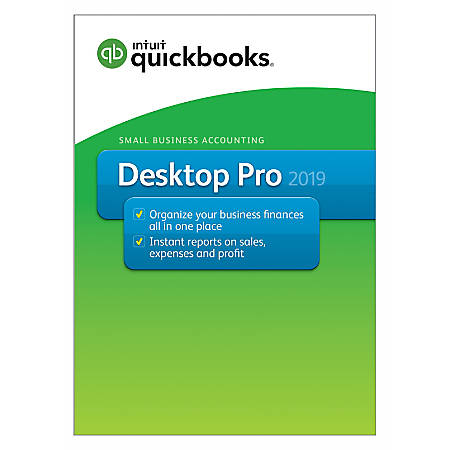 QuickBooks PRO 2019 -1 User Full Pack