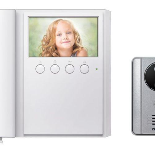 Commax Monitor CDV43M + DRC 4L Camera