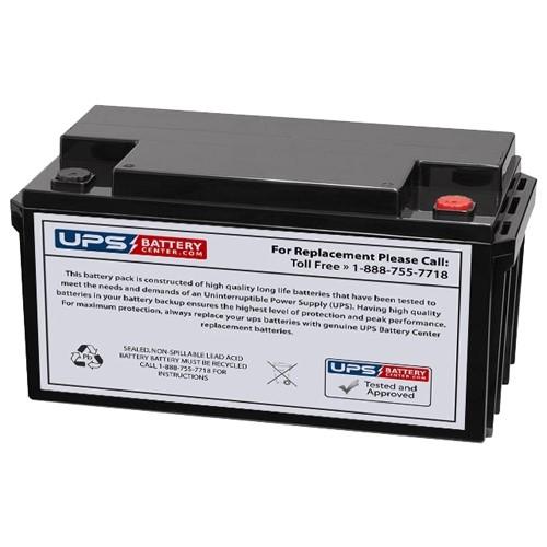 12V 65AH UPS Battery
