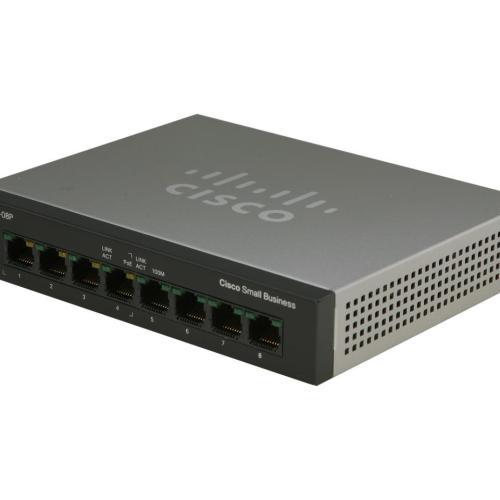 Cisco SF100D-08 8-Port Desktop Switch
