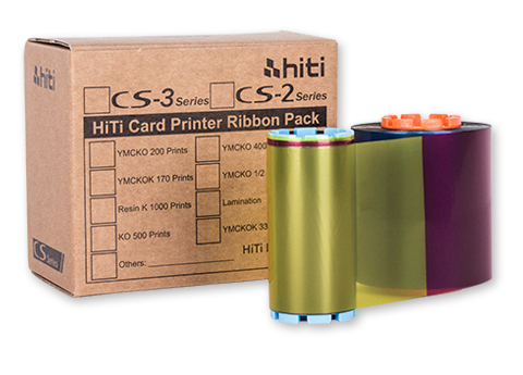 HiTi CS-2 YMCKO Color Printer Ribbon