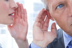 Employee Candidates Whispering