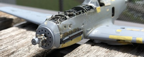 1/48 Ki-61ii (Hien) with teardrop canopy – WIP #15