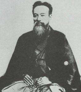 山岡鉄舟(晩年)