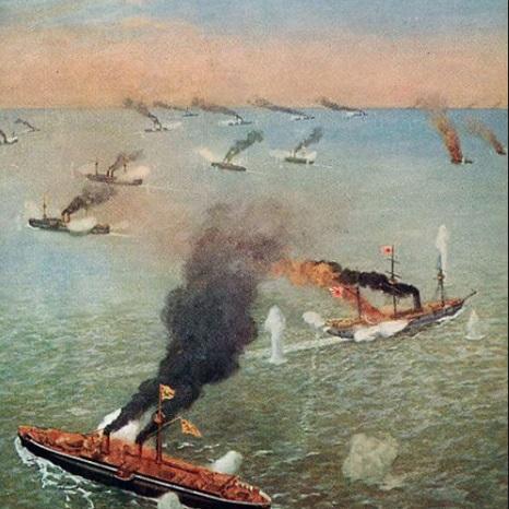 世界最初の近代海戦 黄海海戦