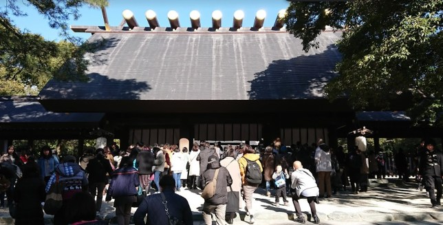 令和元年 年末の熱田神宮
