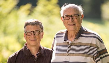 Bill Gates Shares The Sweetest Message To His Dad On Father's Day - TettyBetty