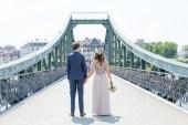 Hochzeit im Römer, Frankfurt; Eiserner Steg