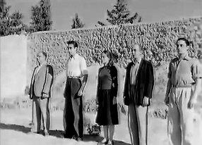 Από αριστερά: Γιώργος Νέζος, Ιορδάνης Μαρίνος, Έλλη Λαμπέτη, Διονύσης Παπαγιαννόπουλος και Νίκος Χατζίσκος