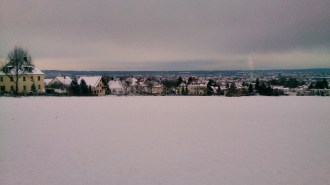 View from Dresden Dlözschen