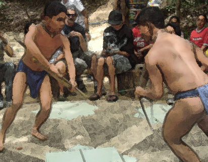 A Play Ground for Igarut War
