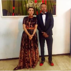 Zeritu Kebede and Lij Michael at Ethio Zodiac Award in Addis Ababa