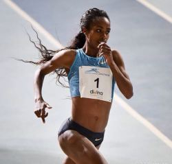 Genzebe Dibaba will battle German and other world class runners at upcoming race in Karlsruhe, G ...