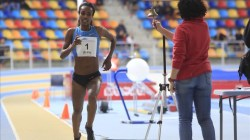 Genzebe Dibaba in Catalonia, Spain (video)
