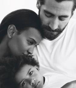 Ethiopian supermodel Lia Kebede in the new Calvin Klein Eternity perfume campaign