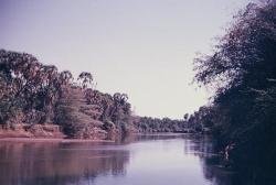The Dawa River at the the Ethiopia-Kenya-Somalia border