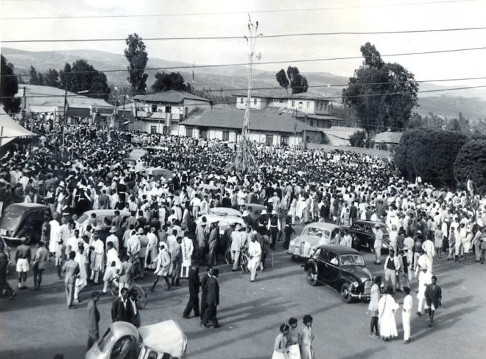 Meskel celebration in Addis Ababa, Ethiopia – 1957
