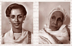 One of the first Ethiopian international model Amelework Tesfaye – 1964 and now
