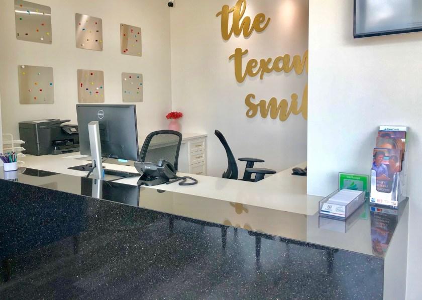 Texan Smile Dentist Sugar Land 77479 Reception