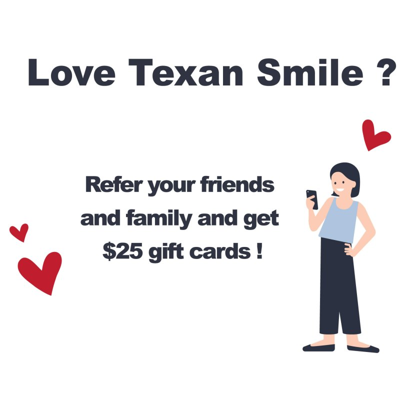 Texan Smile Sugar Land Dentist Friends and Family Offer