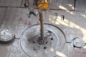 Texan Water - Air rotary drilling