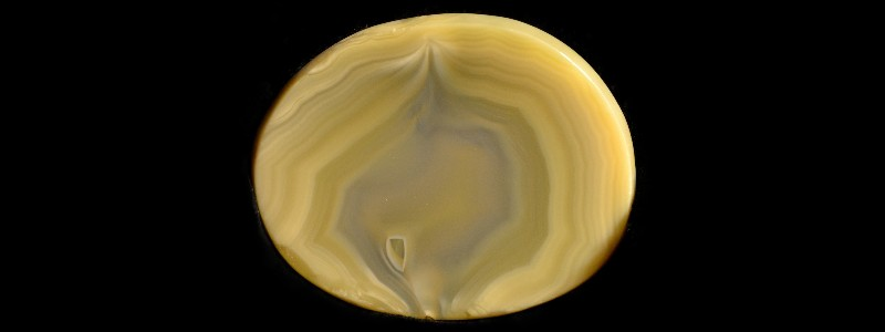 Yellow Agate Gemstone