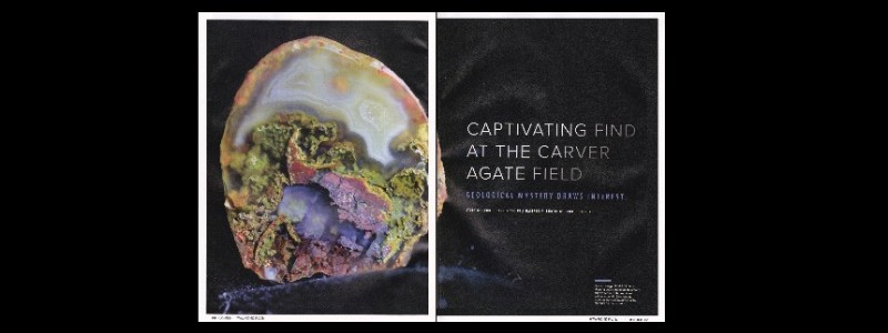 Rock & Gem Article about The Carver Agate Field Published