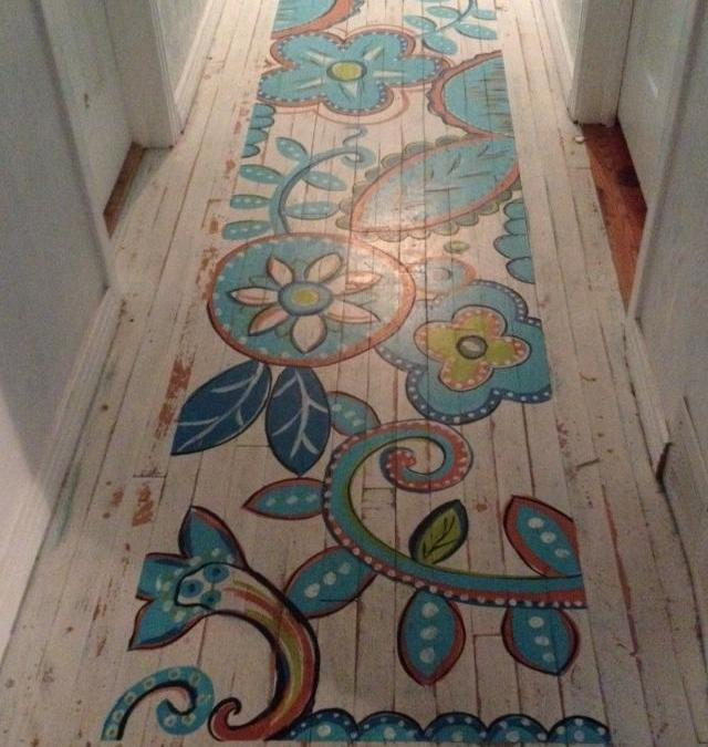 Let's paint our floor!