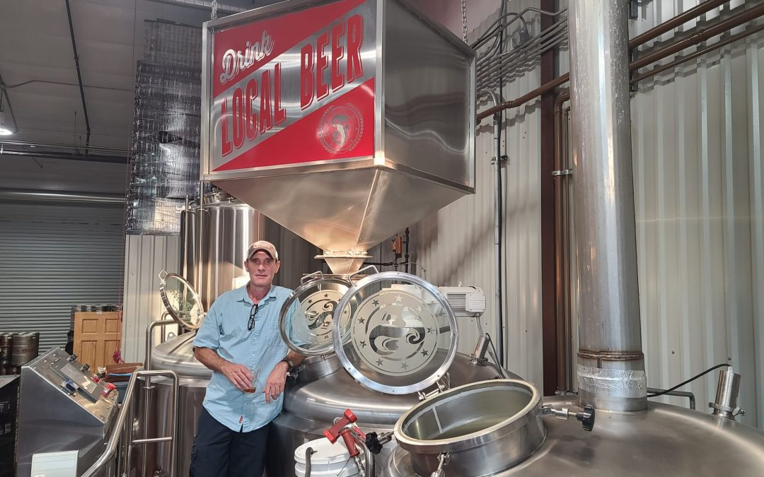 Visiting Fredonia Brewery in the Oldest Town in Texas