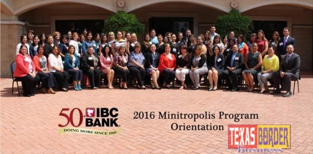 Pictured: Participants and prospects of IBC Bank's Minitropolis Program included 6 local school districts