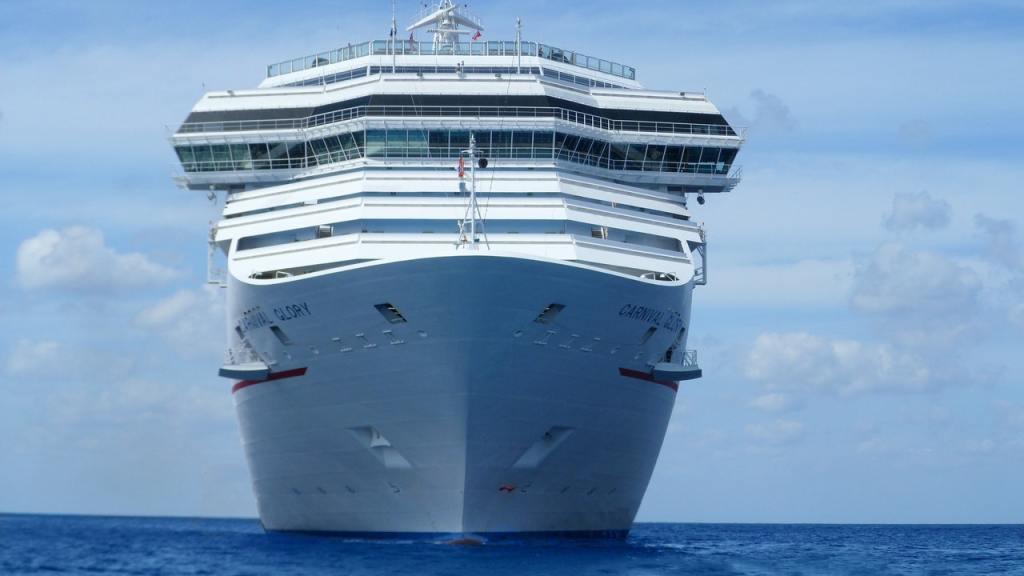 Cruise Prepares To Drop Anchor From Galveston